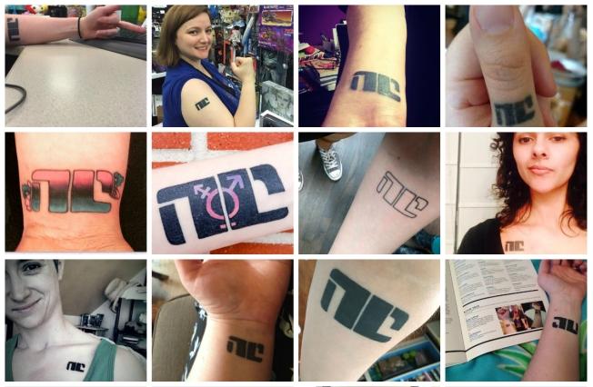 Non-Compliant tattoos