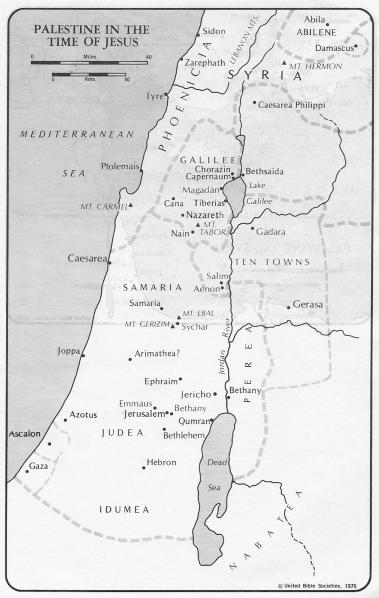 Palestine in time of jesus
