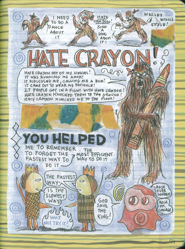 hate crayon