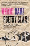 Meet the Wham! Bam! Poetry Slam!Writer