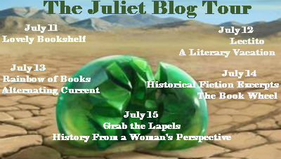 Juliet blog tour icon
