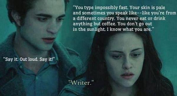 Twlight writer